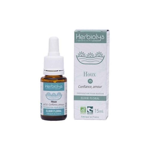 Ilice, Remediu floral Bach BIO 15ml nr. 15 - Holly