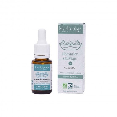 Mar paduret, Remediu floral Bach BIO 15ml nr. 10- Crab apple