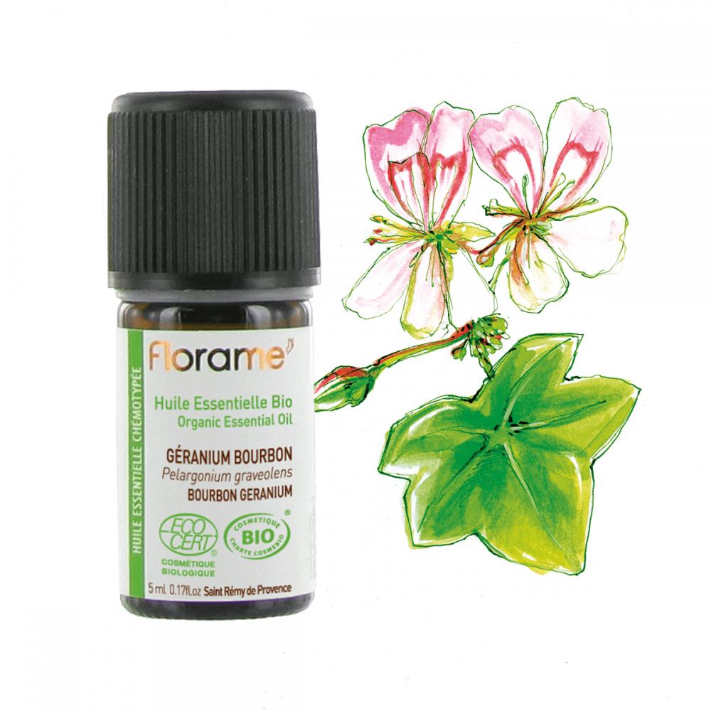 Ulei esential geranium bourbon BIO 5ml