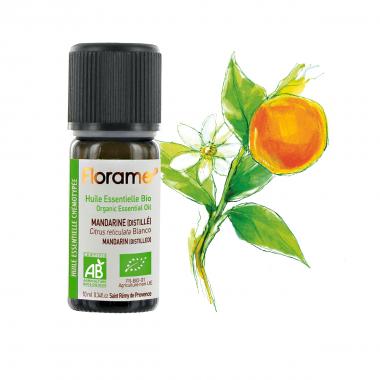 Ulei esential mandarina distilata BIO 10ml