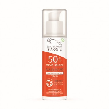 Crema solara fata SPF50 BIO 50ml - 1