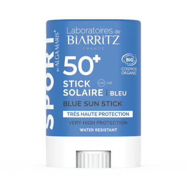 Stick solar fata SPF50+ Bleu sport BIO 12g - 1