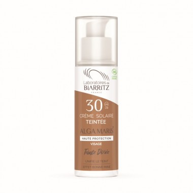 Crema solara fata Tinted cream SPF30 Doree BIO 50ml - 1